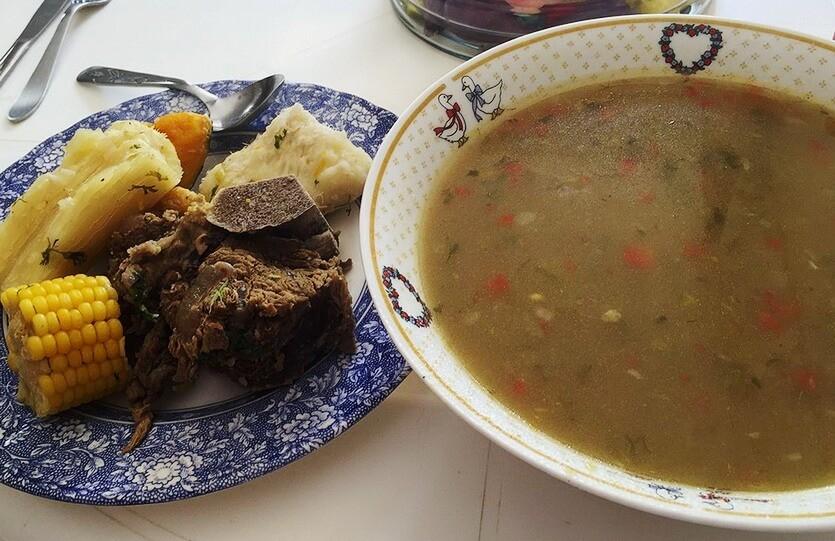 суп в эквадоре
