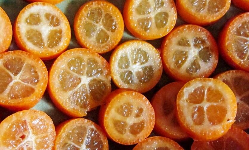 кумкват китайский фрукт