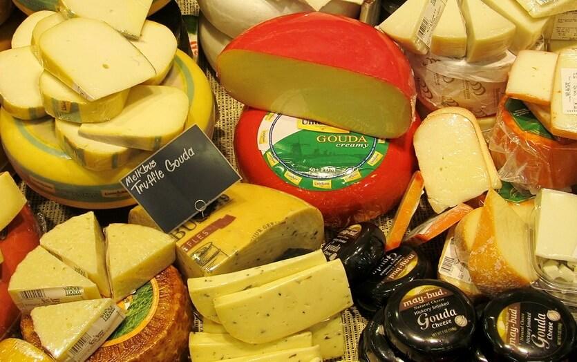 голландский сыр гауда