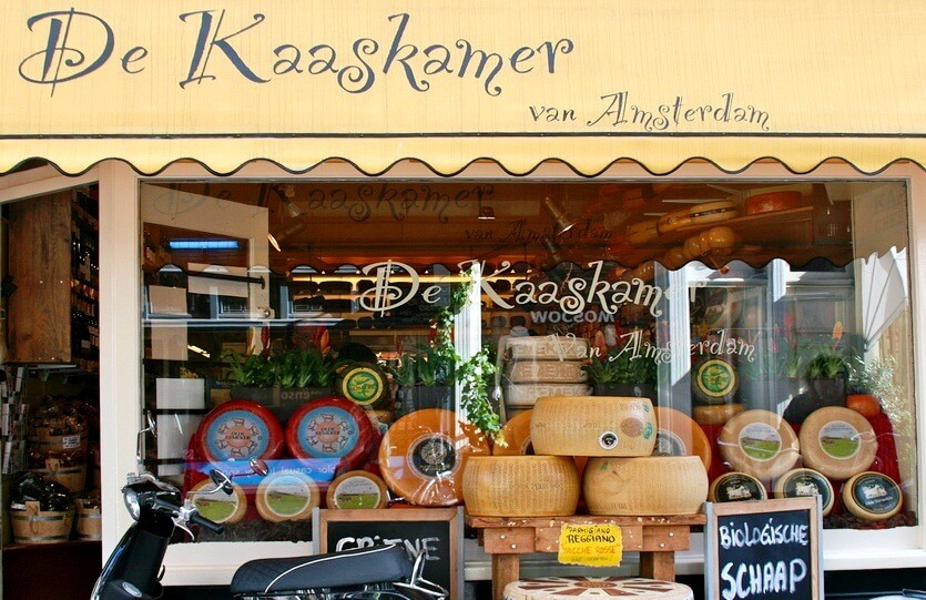 сыр в амстердаме