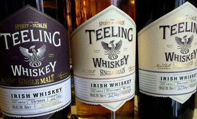 виски teeling дублин