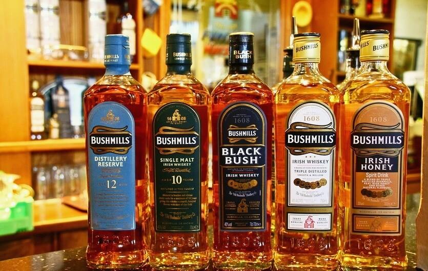 bushmills виски ирландский