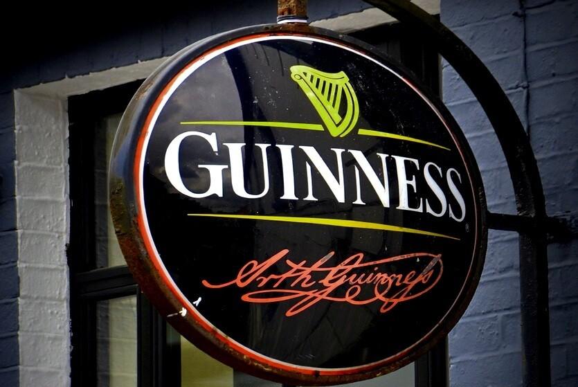 ирландия пиво гиннесс