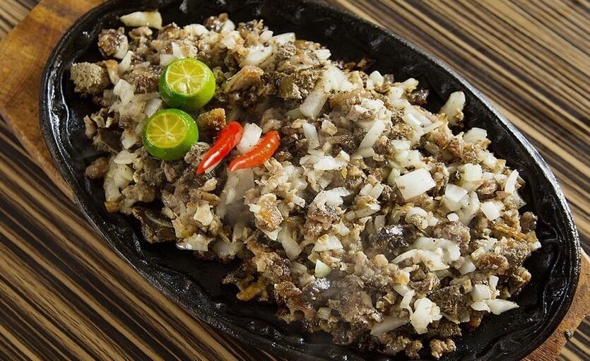 сисиг еда на филиппинах