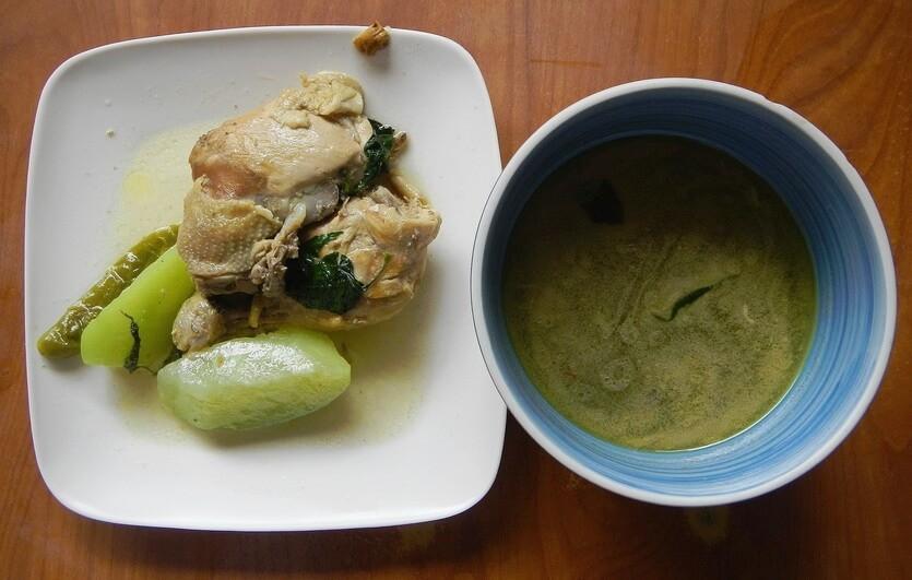 тинола суп на филиппинах