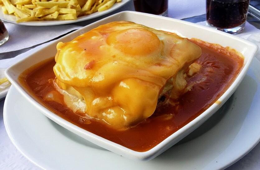 франкезинья еда в португалии