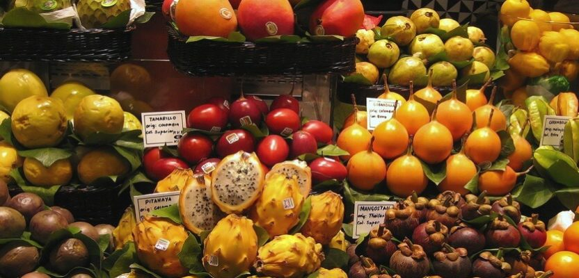 индонезия бали фрукты