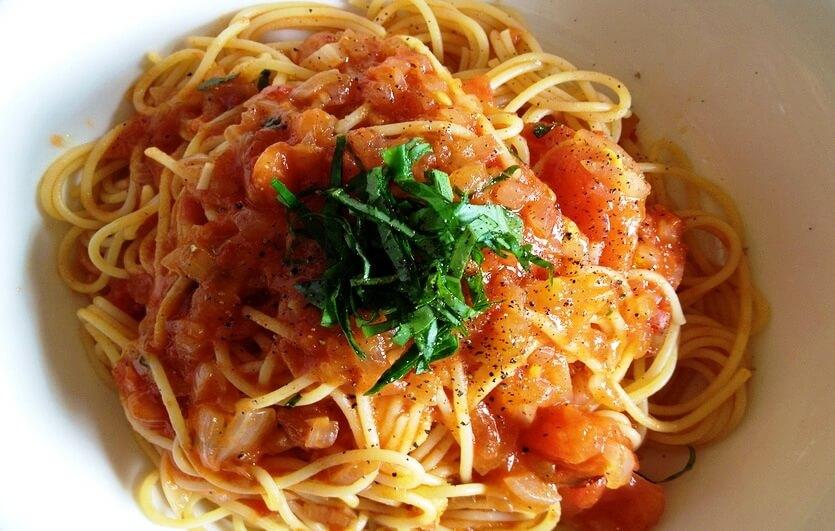 спагетти наполи в италии