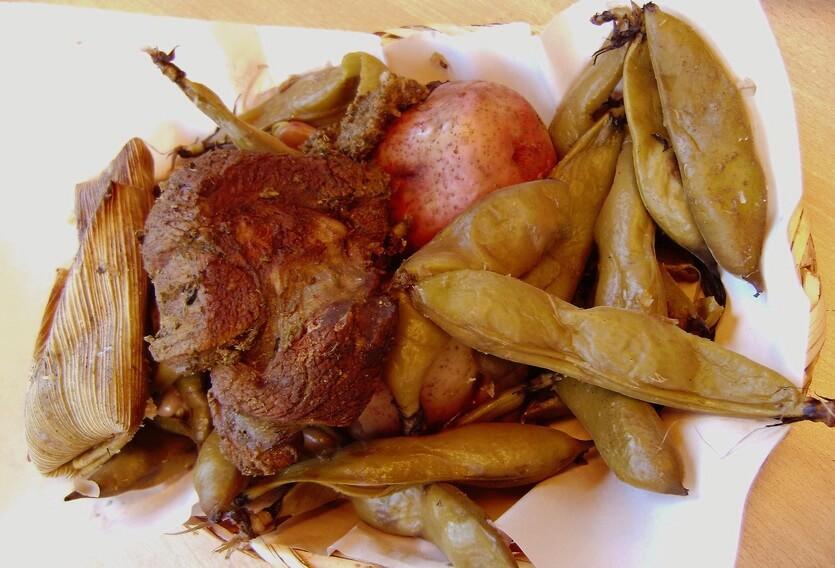 пачаманка перуанское блюдо