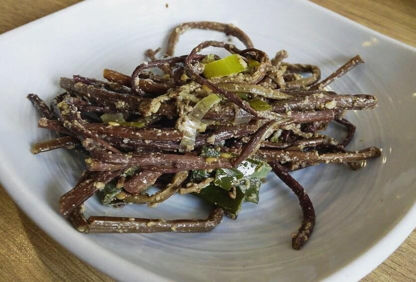 салат из папоротника улан-удэ