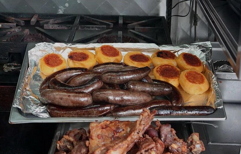 еда в эквадоре куэнка