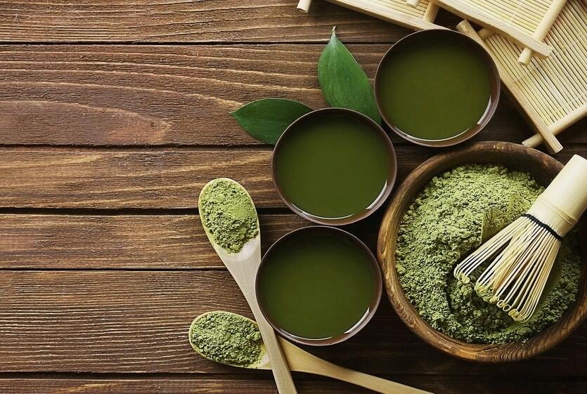 японский зеленый чай маття