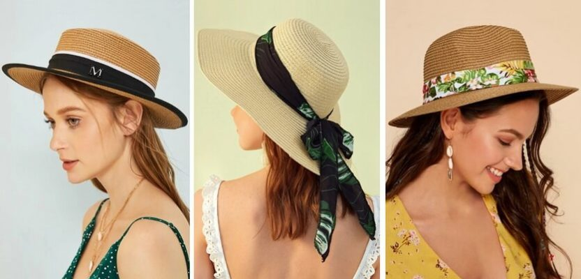 женские шляпы лето 2020