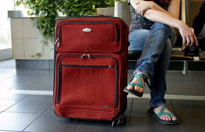 чемодан ручная кладь