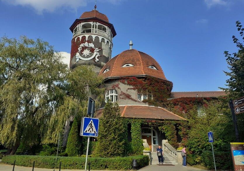 водонапорная башня светлогорск