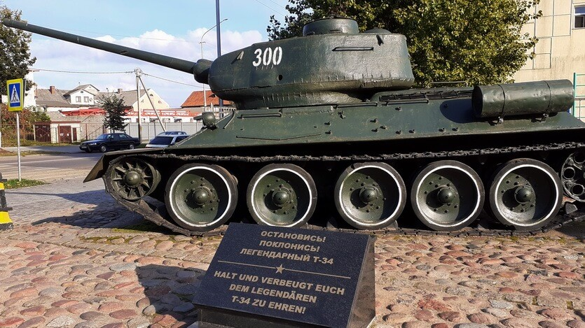 танк т-34 советск