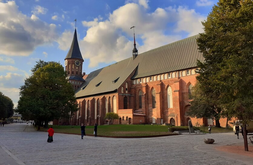 Кнайпхоф и Кафедральный собор