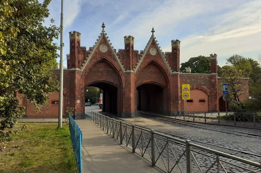 Бранденбургские ворота Кенигсберг