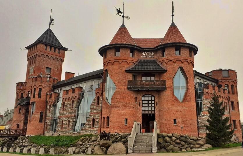 замок нессельбек калининград