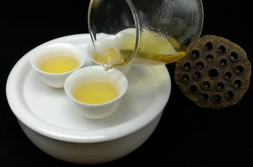 улун чай молочный
