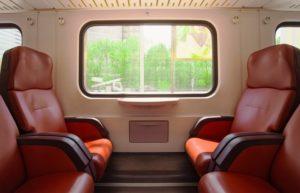 поезд выбор места